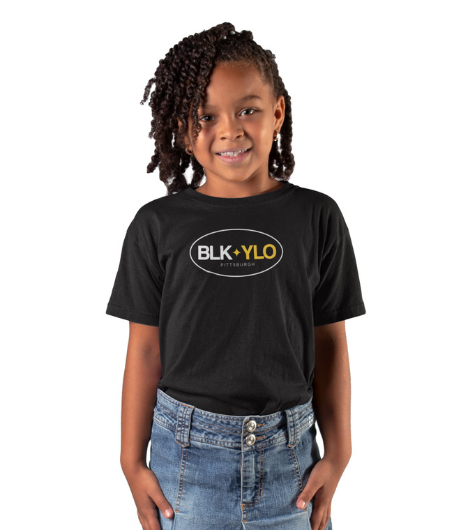 BLKYLO Youth tee