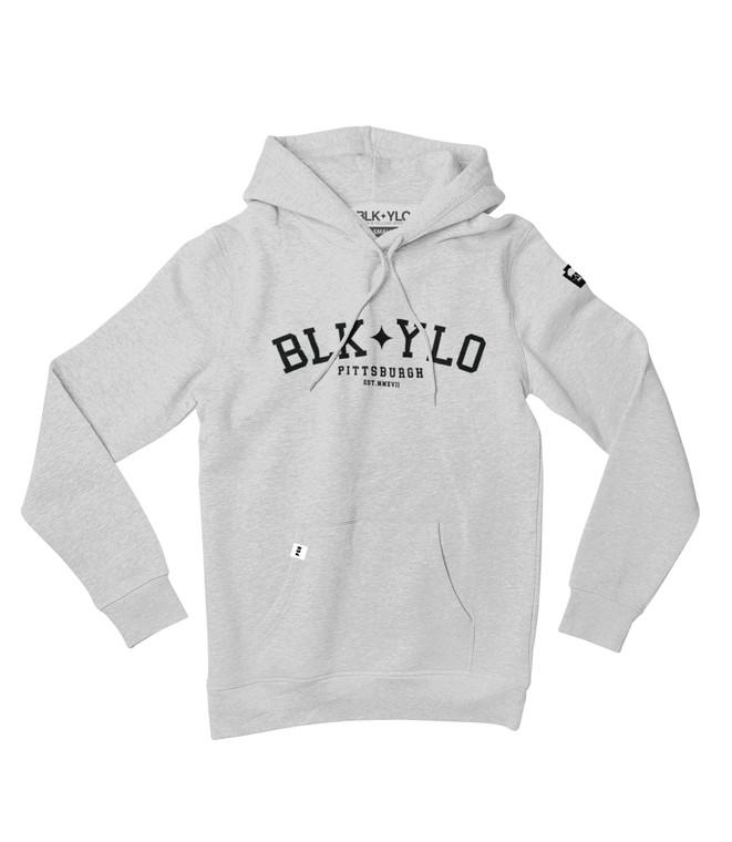 Sophomore midweight hoodie (grey)