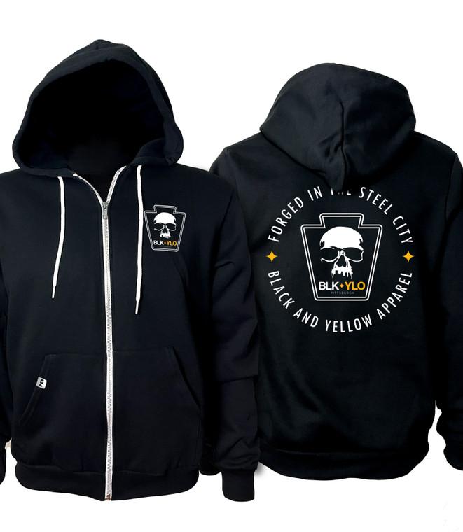 Steel Forged Zip-up hoodie