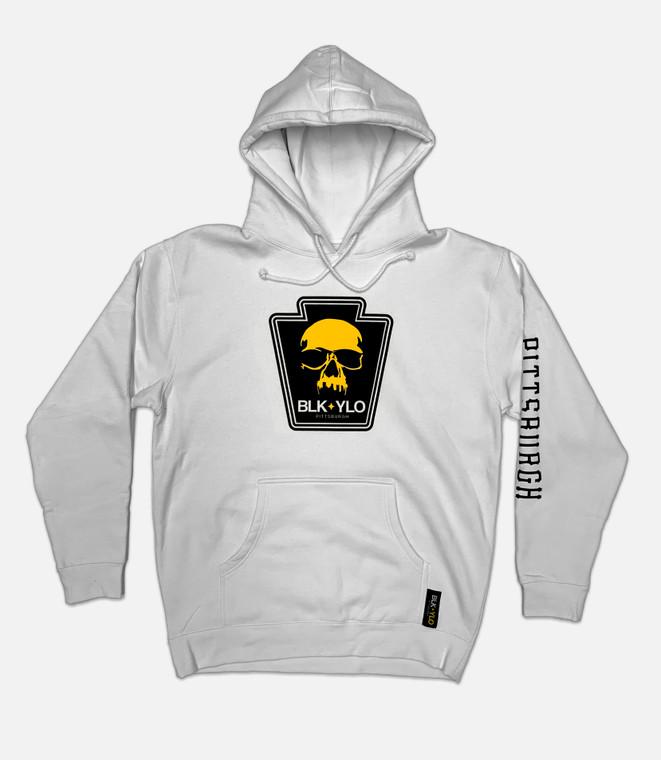 Skyline skull heavyweight hoodie (Away colors)