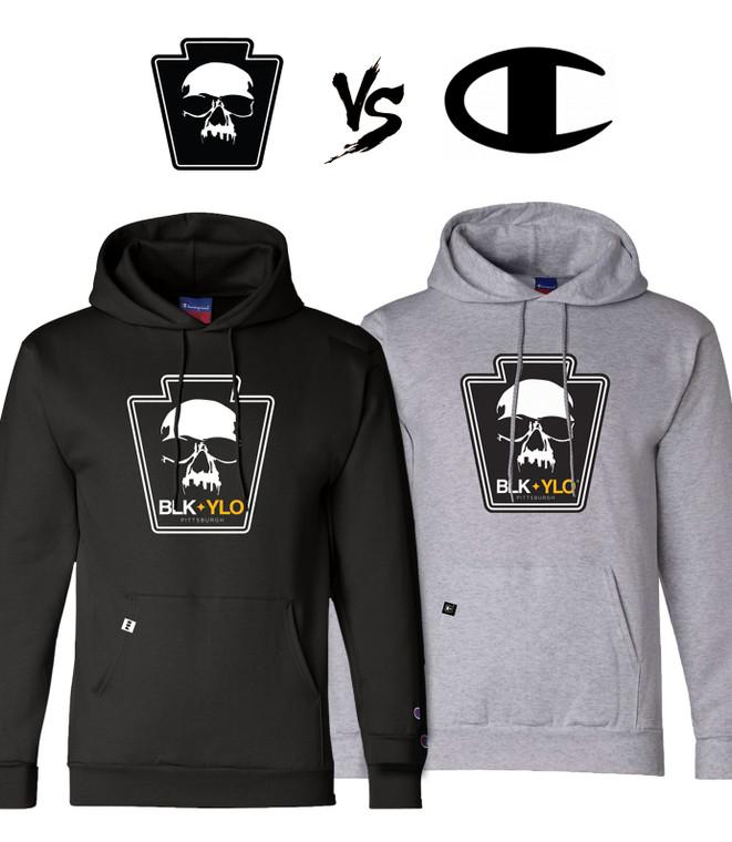 BLKYLO + Champion Hooded sweatshirt