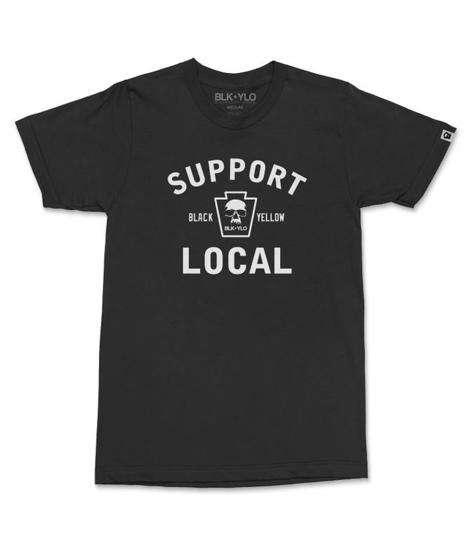Support Local crewneck tee