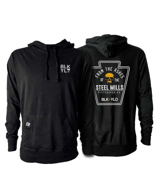 From the ashes hooded pullover shirt
