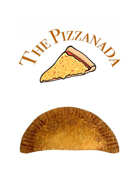 Pizza sauce with mozzarella cheese