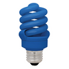 TCP CFL 13W Full Springlamp Blue Light Bulb - 48913BL