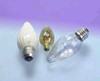 40F/IC/BL/2PK 120V  Decorative Flame Light Bulb