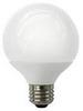 8W LED Elite Series Dimmable G25 27K Light Bulb - TCP Brand