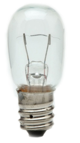 6S6-120 S6, Candelabra Base Incandescent Light Bulb (E12)