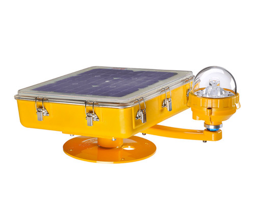 Avlite Radio Controlled Solar Helipad Light - Avlite-AV-HL-RF-SOL