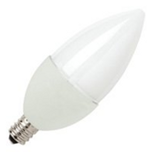 5W LED Elite Series Dimmable 27K Candelabra Blunt Tip Light Bulb - TCP Brand