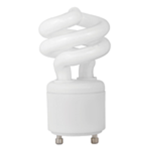 9W - UNCOVERED SPRINGLAMP®  - GU24 BASE - 30K - TCP Brand