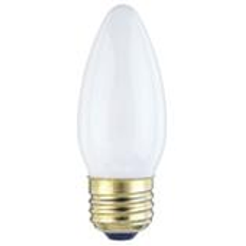 Westinghouse 25B11/W/CD2 Torpedo Standard Base Incandescent Light Bulb
