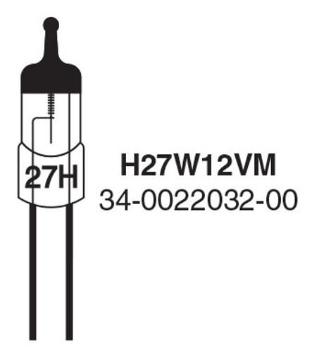Whelen 27 watt 12 volt Replacement Bulb - H27W12V (H27W12VM-3-A-3)