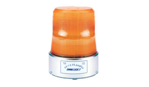 Code 3 Star Flash Beacon Light - Permanent Mount - LL400I