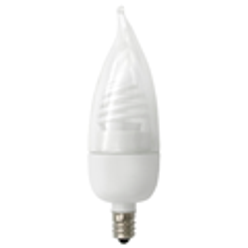 Flame Tip Cold Cathode Lamp - 3W - LV - Candelabra Base - TCP Brand