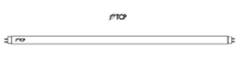 F28T5/835 - T5 LINEAR LAMP (TCP Brand)