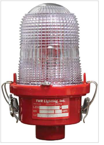 TWR Obstruction Lighting - OL1 Cast LED FAA Type L-810 - 120-240 VAC