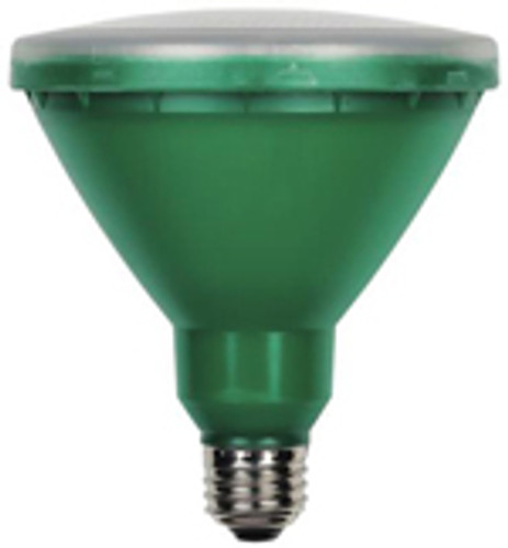 Westinghouse 15 Watt PAR38 Green Outdoor LED Light Bulb 03149