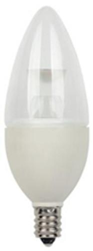 Westinghouse 3 Watt Torpedo B10 Dimmable LED Light Bulb - 03211