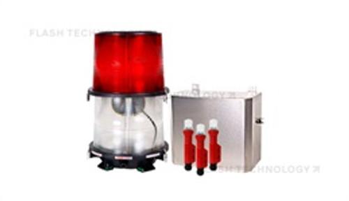 FTB 324 Dual Medium Intensity L-864 / L-865 Xenon Obstruction Lighting System - SPX Corp 1