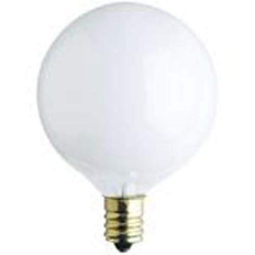 Westinghouse 25G1/W/CB/130 - G16 Incandescent Light Bulb