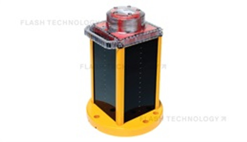 OL800 Solar LED Obstruction Light in FAA L-810 and Low-Intensity ICAO Type A/Type B - SPX Corp