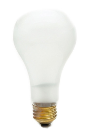 100A21/FR-130 A21 Incandescent Light Bulb, Medium Base (E26)