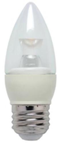 Westinghouse 3 Watt Torpedo B10 Dimmable LED Light Bulb 03212