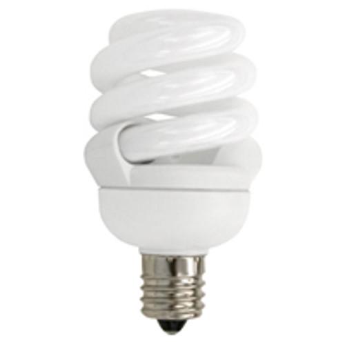 TCP CFL 9W Full Springlamp 30K Candel Light Bulb - 48909C30K
