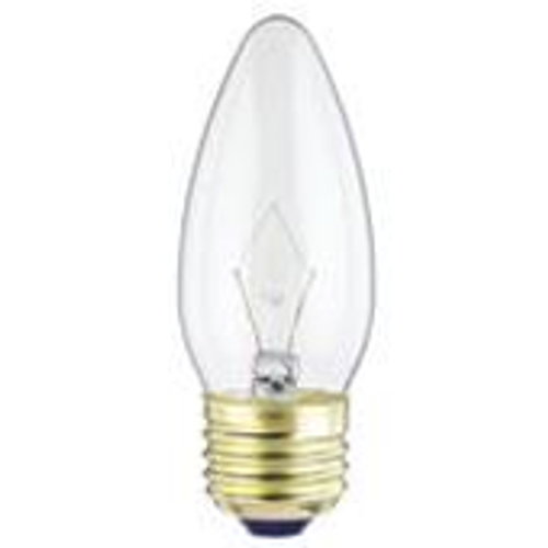 Westinghouse 25B11 Torpedo Standard Base Incandescent Light Bulb