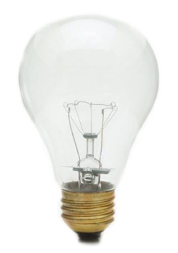 100A21/CL-130 A21 Incandescent Light Bulb, Medium Base (E26)
