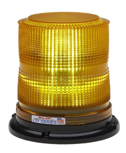 Whelen Super-LED Beaco Light - Perm/Pipe J Hook Mount - L21HAP