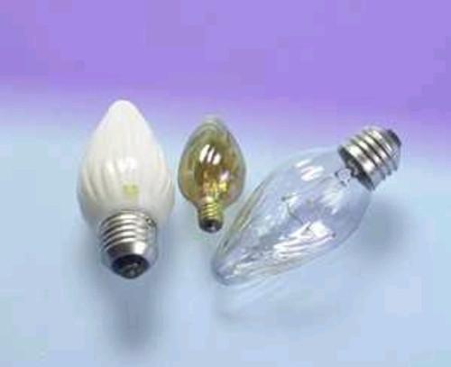 25F/AIC/BL/2PK 120V Decorative Flame Light Bulb