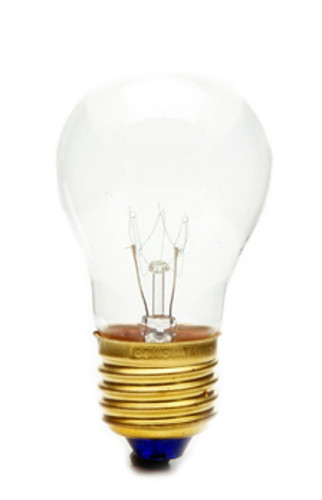 15A15 / CL - 130v Appliance Replacement Light Bulb