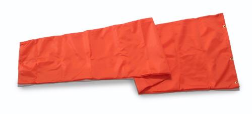 "Aviation Wind Sock - 18"" X 5' Orange nylon windsock"