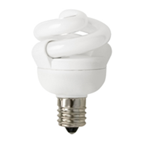 TCP CFL 5W Full Springlamp 50K Candel Light Bulb - 48905C50K
