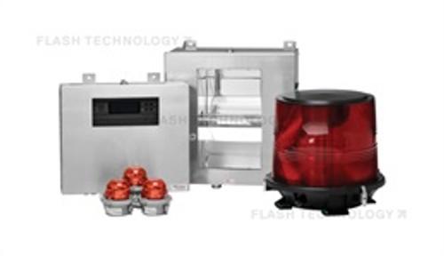 FTB 225 High Intensity Dual Xenon L-856/L-864 Obstruction Lighting System - Single Enclosure - SPX Corp