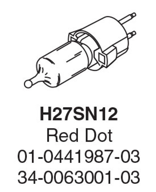 Whelen Halogen Replacement Light Bulb  H27SN12