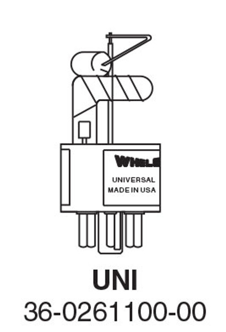 Whelen  UNI Universal Flash Tube - Replaces S406, S600, Z360