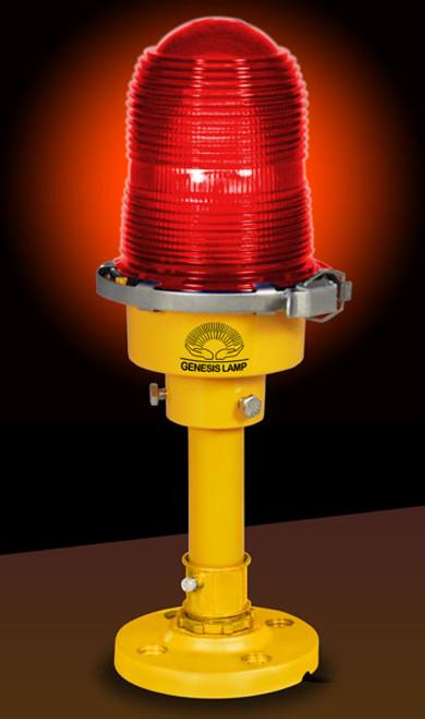 Obstruction Light - Table Lamp / Desk Lamp