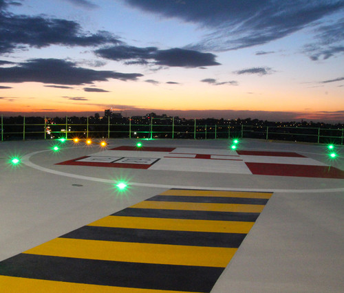Helipad Inset Lights