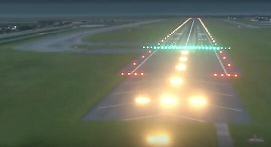 Airport Lighting – This video explains all those different colored lights
