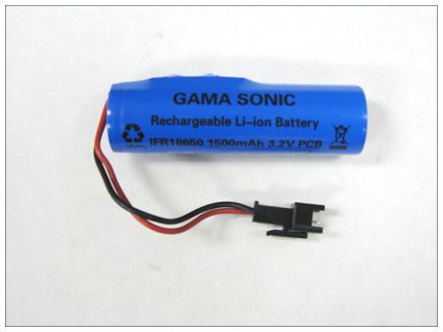 Solar Battery for 3 Models of Gama Sonic Lamp Post Lights.