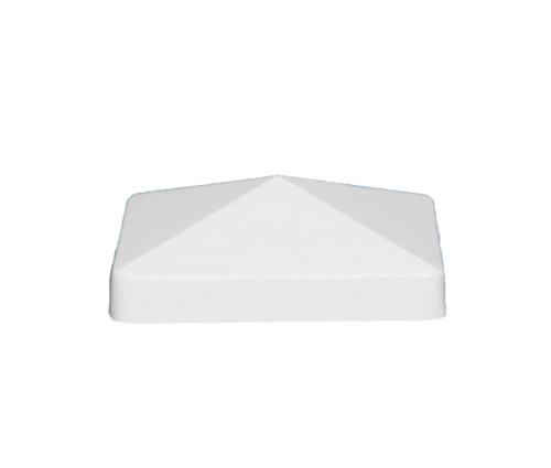4x4 PVC Fence Post Caps will fit your actual 4x4 vinyl or PVC fence posts.