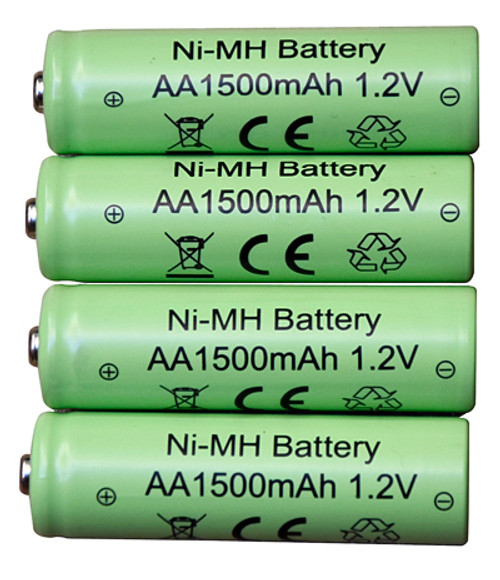 Rechargeable solar batteries will replace existing 1.2V Ni-MH AA batteries in solar fountains and solar powered lights.