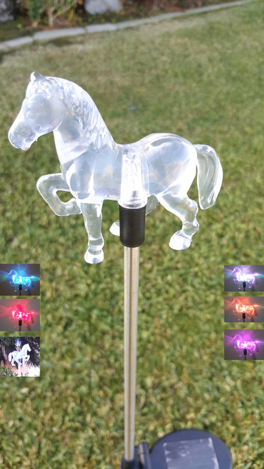Color changing solar lights make a wonderful gift for Birthdays and Holidays, especially when they are Animal solar garden lights.