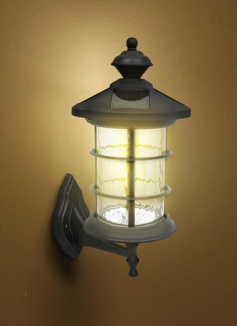 Solar Lamp Post Light for Wall, Pole or Column - Classy Caps Hampton