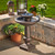 The Chatsworth 2-tier solar powered fountain has a simplistic design, with an elegant Bronze  finish.