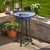 Smart Solar Bird Bath is 28.75 Inches High, with a 20.75 Inch Diameter.