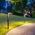 Solar sidewalk light has a Warm White LED setting to enjoy welcoming soft lighting at night.